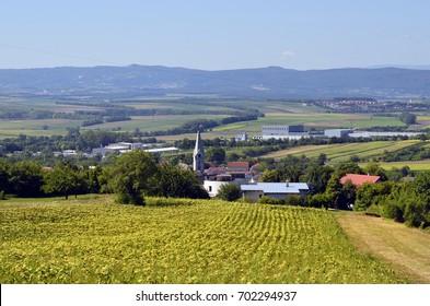 Austria, rural area in Northern Burgenland