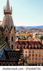 Austria Vienna St Stephan Cathedral Plaz - Shutterstock ID 1916460734