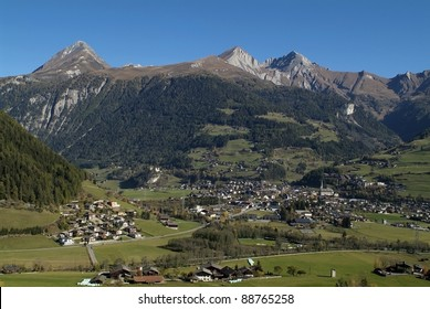 Austria, view over Matrei in East Tyrol