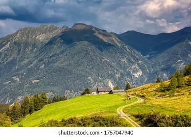 The Austrian Alps in the Gastein Valley