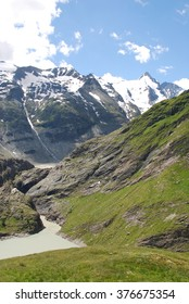 Austrian alps and Grossglockner in the background