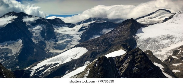 Austrian Alps Panorama.