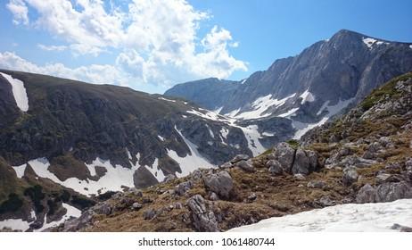 Austrian Alps View