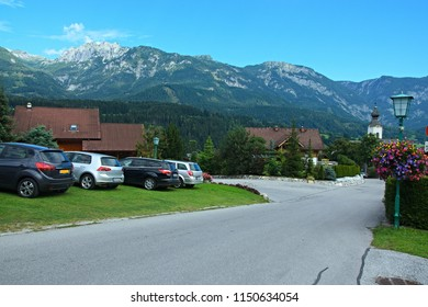 Austrian Alps-view of the Alps from Haus im Ennstal