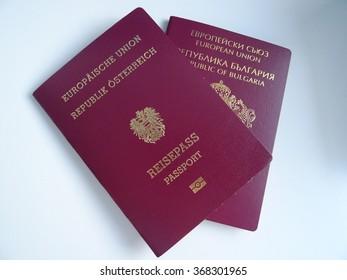 Austrian and Bulgarian Passports