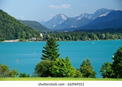 Austrian lake Faaker see