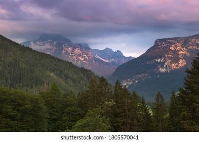 The Austrian mountains, near Lofer, Saalachtal, Austria