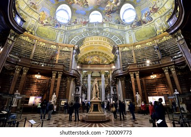 Austrian National Library VIENNA AUSTRIA 9/05/2017