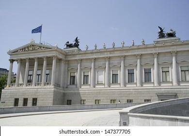 Austrian Parliament Building - Vienna, Austria