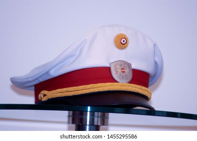 austrian police cap with coat of arms