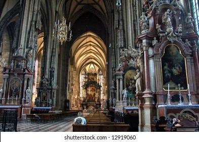 Austria's national church, St. Stephen's Cathedral, Vienna