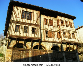 Authentic building in sunset, Amasra, Turkey
