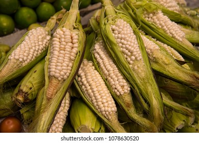 Authentic heirloom corn of the Andes, in Ecuador, South America.