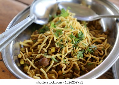 authentic Indian food misal