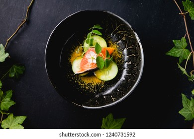Authentic Japanese food served in a bowl.