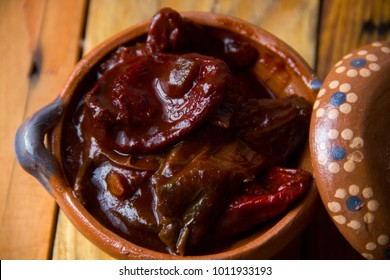 Authentic mexican chipotle peppers