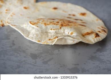Authentic mexican flour tortillas