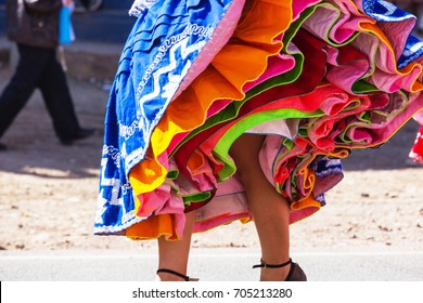 Authentic peruvian dance