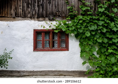Authentic rural architecture details - windows