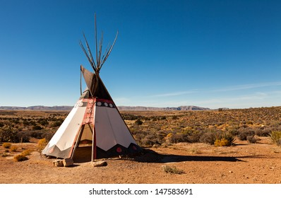 Authentic Tee-pee from Native North Americans
