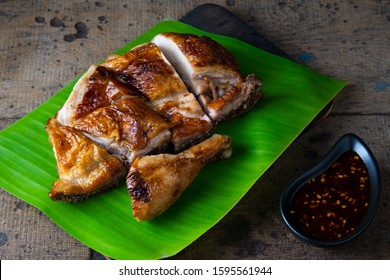 Authentic Thai-Style Grilled Chicken (Gai Yang) with Spicy Sauce