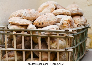 Authentic traditional bread in Cairo - Egypt