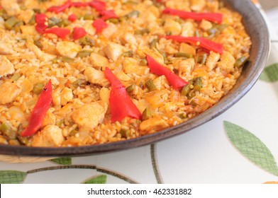 Authentic Valencian paella firewood