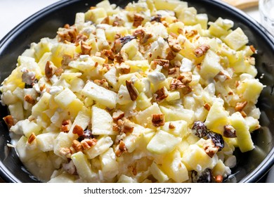 Authentic waldorf apple salad