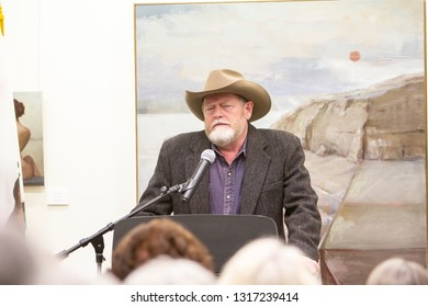 Author Craig Johnson at the Friends of Fallbrook Library 19th Annual Community Read and Autograph Signing on Feb. 16, 2019 at Fallbrook Public Library, Fallbrook, CA.