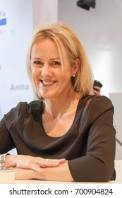 Author Jojo Moyes at the Frankfurt Bookfair / Buchmesse Frankfurt 2015 in Frankfurt am Main, Germany