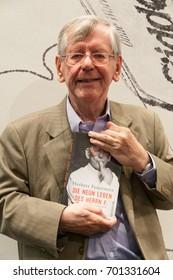 Author/Comedian Herbert Feuerstein at Frankfurt Bookfair 2014 / Buchmesse Frankfurt 2014