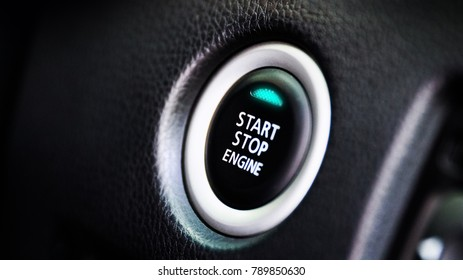 auto car engine start stop button for keyless entry