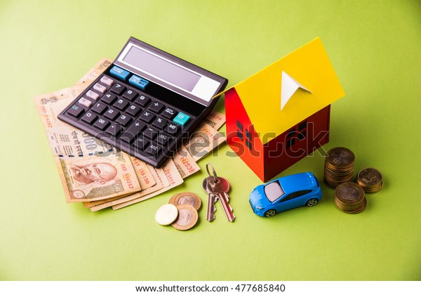 Auto Finance Housing Loan Purchase India Stock Photo Edit Now