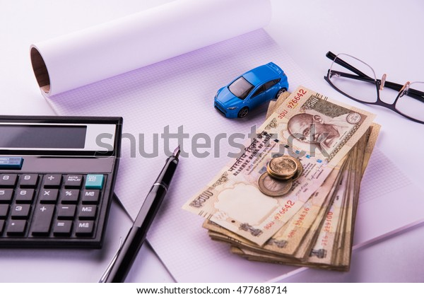 Auto Finance Loan India Concept Showing Stock Photo Edit Now 477688714
