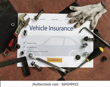 Car blueprint stock photos images photography shutterstock auto insurance vehicle protection concept malvernweather Choice Image