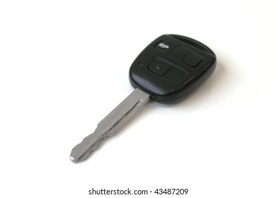 auto key with integrated alarm and central locking
