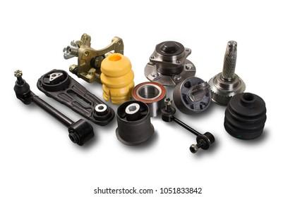 Auto parts isolated