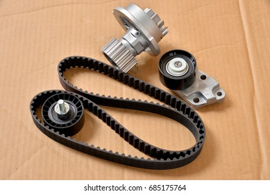 auto parts; timing belt kit and water pump