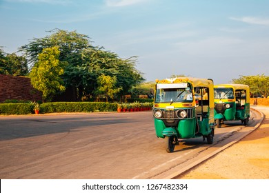 Auto rickshaw in Jodhpur, Rajasthan, India