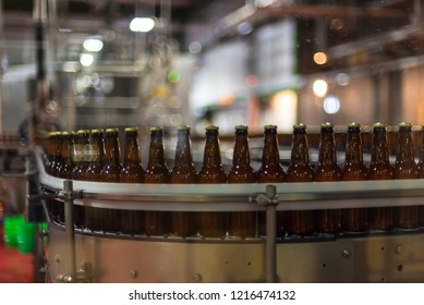 Automated beer bottling assembly - craft brewery