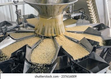 Automated food factory make fresh pasta