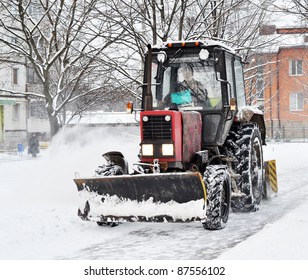 An automated snow removal