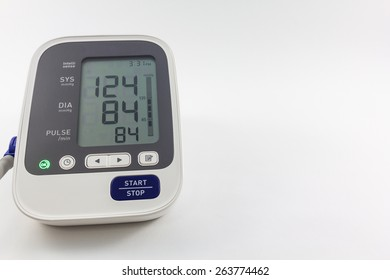 Automatic blood pressure monitor.