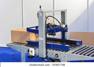 Automatic Box Packing Machine in Factory