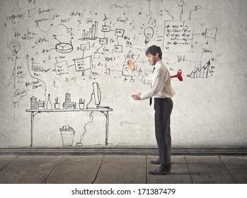 automatic businessman