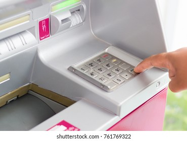 automatic deposit machine facilitates the deposit into the bank account