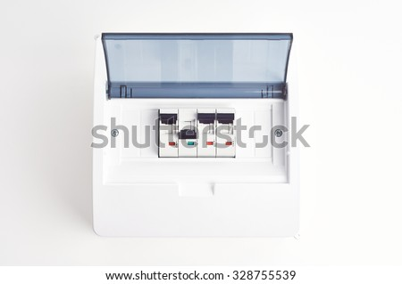 automatic fuses closed fusebox small electrical stock photo (edit RV Fuse Box automatic fuses in closed fusebox small electrical distribution box