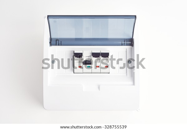 automatic fuses closed fusebox small electrical stock photo (edit Old House Fuse Box