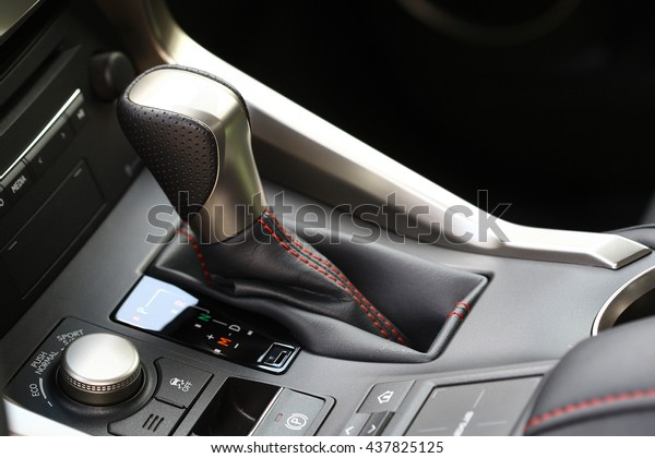 Automatic Gear Lever Gear Shift Car Stock Photo (Edit Now