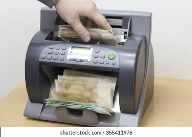 automatic money counting in the machine